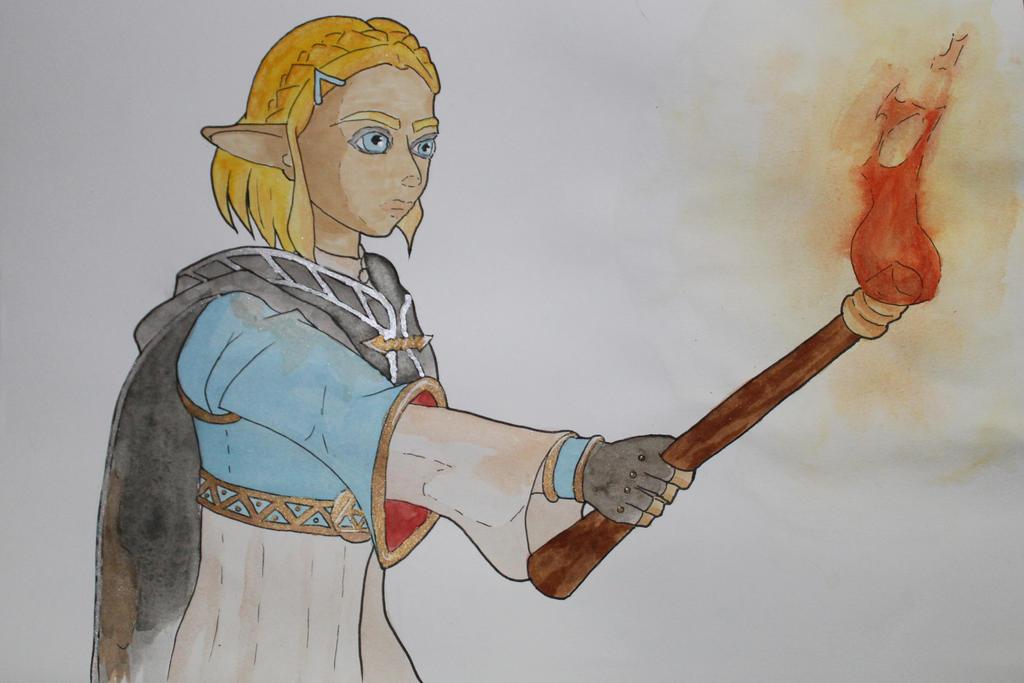 Shorthair Zelda by Frakkle-art