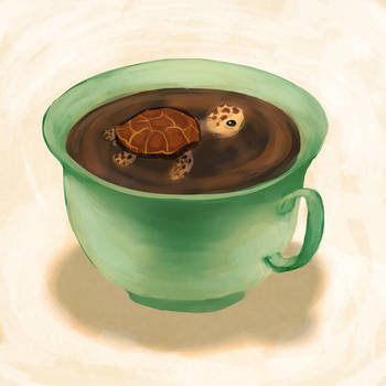 Tea Turtle by Neesha