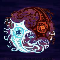 Raava and Vaatu by Neesha