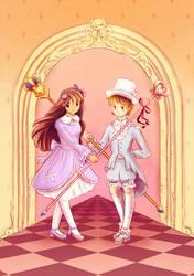 Pastel-wearing-guards