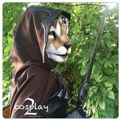 Skyrim nightingale khajiit cosplay -1-