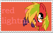 RQ: Red lightning stamp by Moonlight-The-Pony