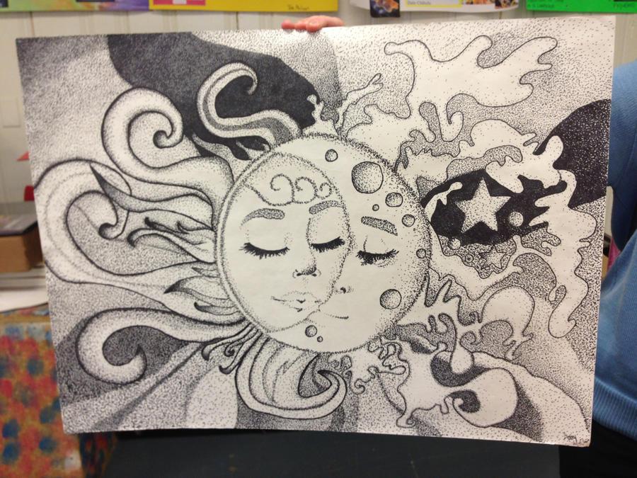 Ideal Sun and Moon art by NotTooShabbey on DeviantArt TU65
