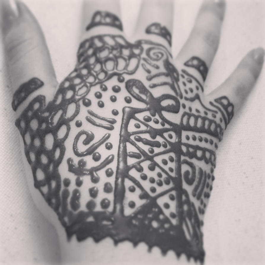 Lace glove henna hand tattoo by nottooshabbey on deviantart for Lace glove tattoo