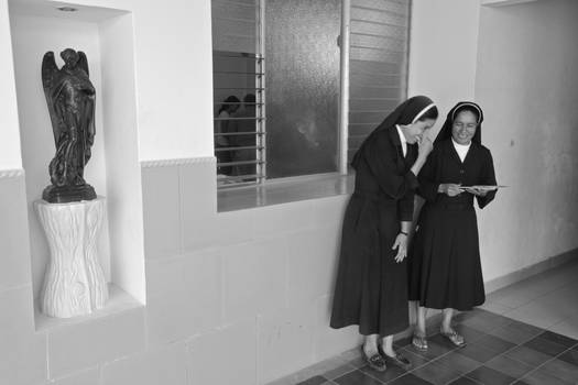 Of course nuns laugh
