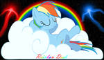 Rainbow Dash chillin'