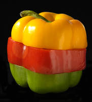 Sliced Peppers by robgbob