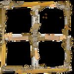 Messy Taped Vintage Frame