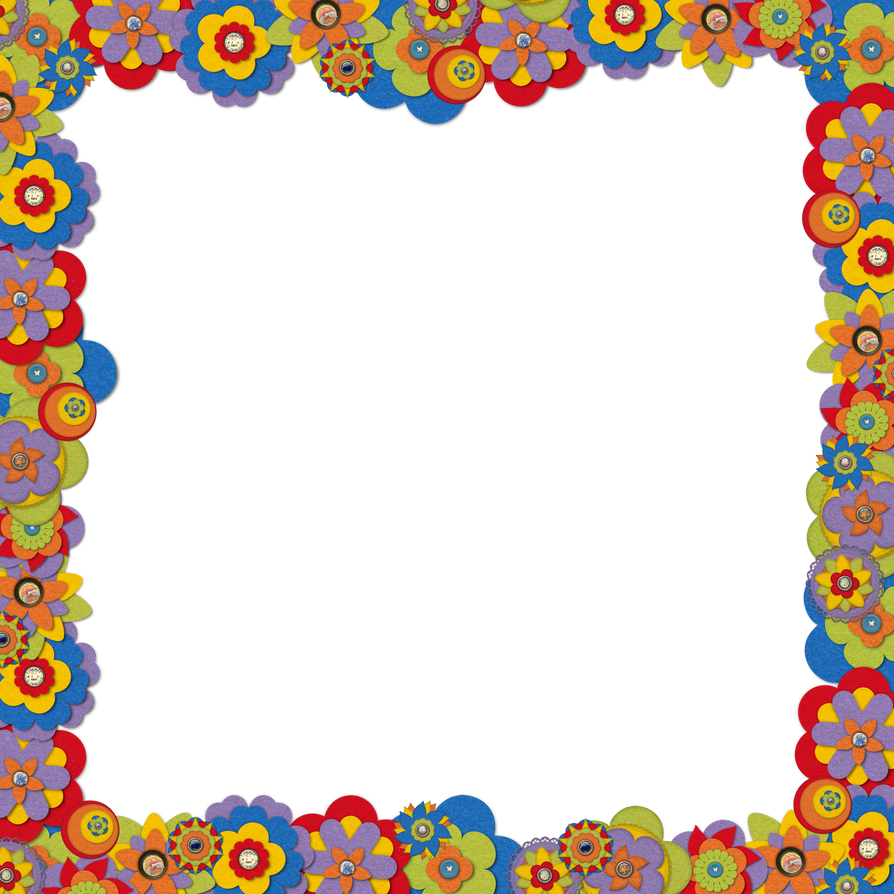 Fashion patterns 2017 - Border Felt Flowers By Hggraphicdesigns On Deviantart