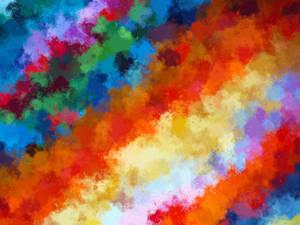 Free texture: rainbow-ish