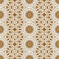 Free seamless tiling gold floral pattern