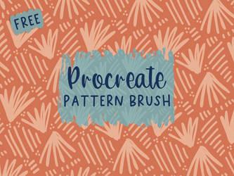 Free Procreate Pattern Brush