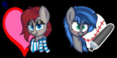 Random Ponys by ClaudeArts