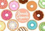 Delicious Donuts Clipart