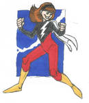 Mary Marvel Redesign