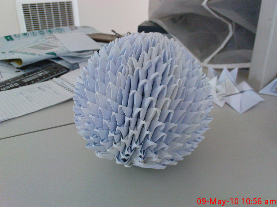 3D Origami Ball By AznLancelot
