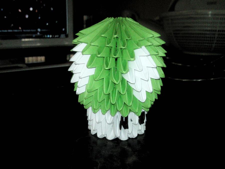 3d Origami Mario 1 Up Mushroom By Aznlancelot On Deviantart
