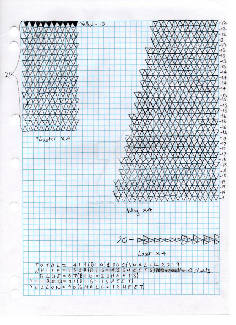 3d Origami X Wing Diagram Part 2 By Aznlancelot On Deviantart 3dorigamiswandiagram Peacock