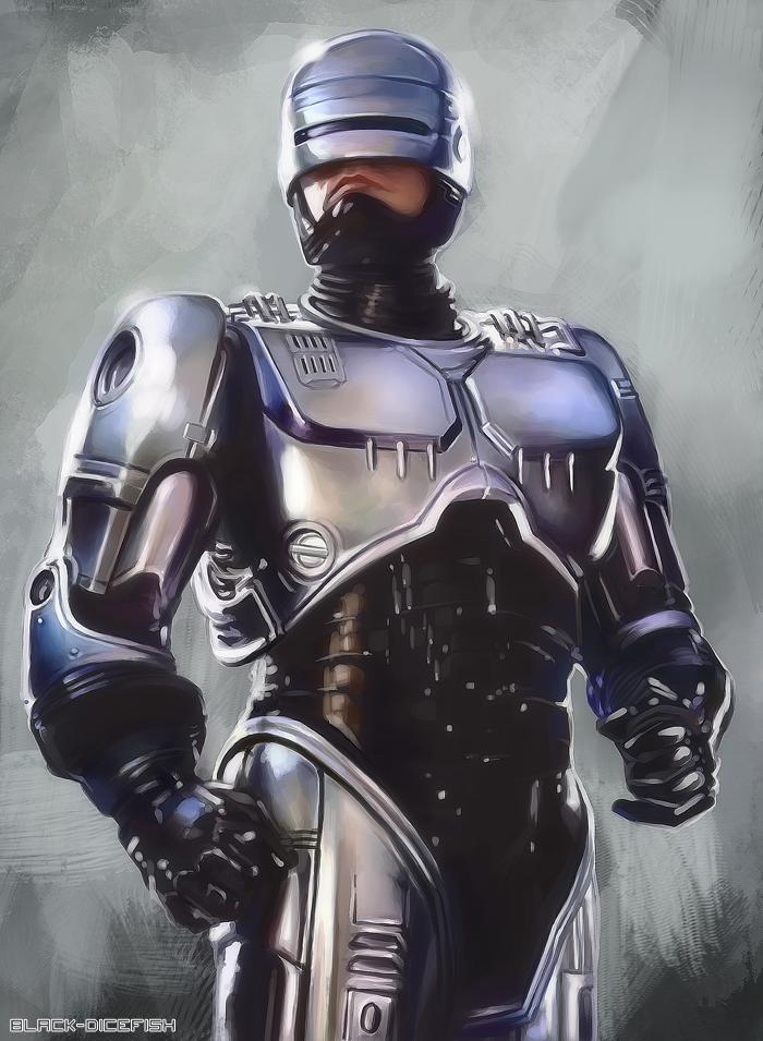 Robocop by black-dicefish on DeviantArt