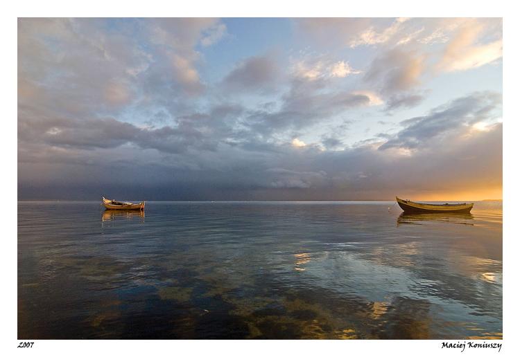 Boats by Maciej-Koniuszy