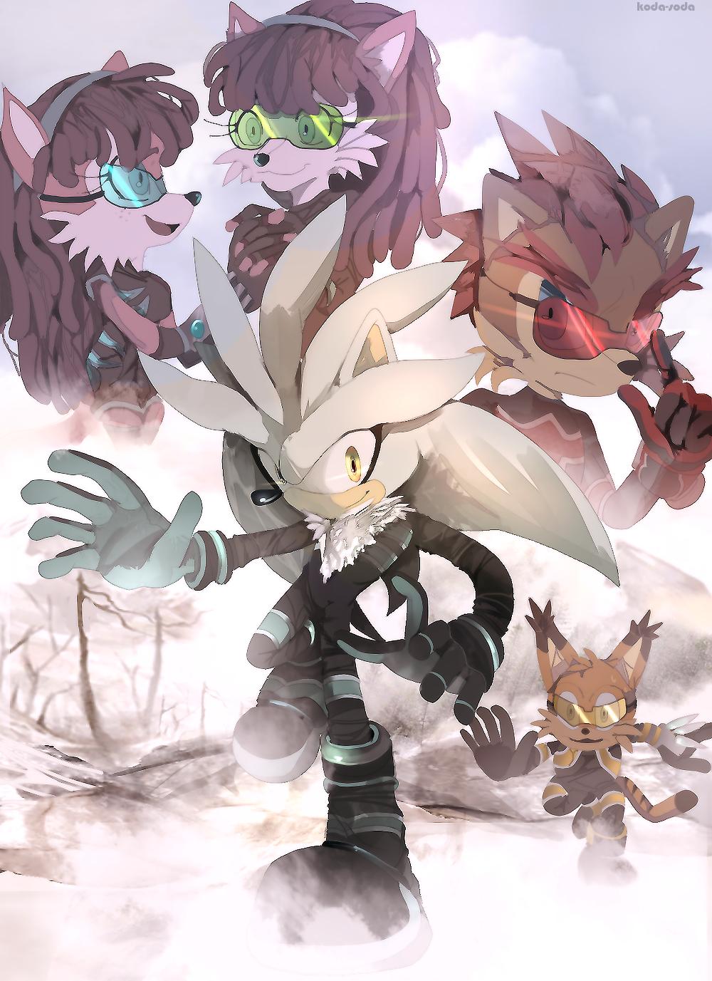 :CONTEST: darkspeeds - Secret Team Fighters by koda-soda