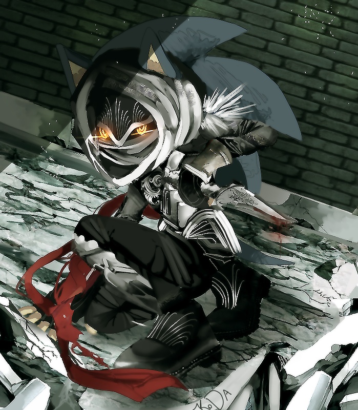 Ogilvie Maurice (Assassin form) by koda-soda