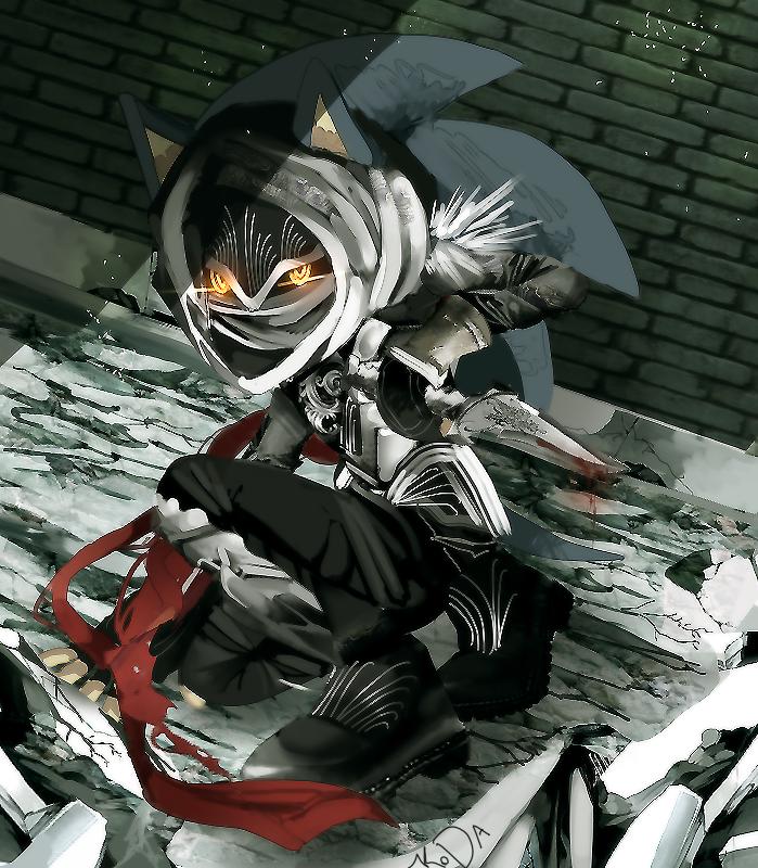 Ogilvie Maurice (Assassin form) by koda-soda