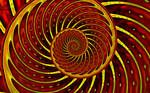 Spiral ... the earth's core