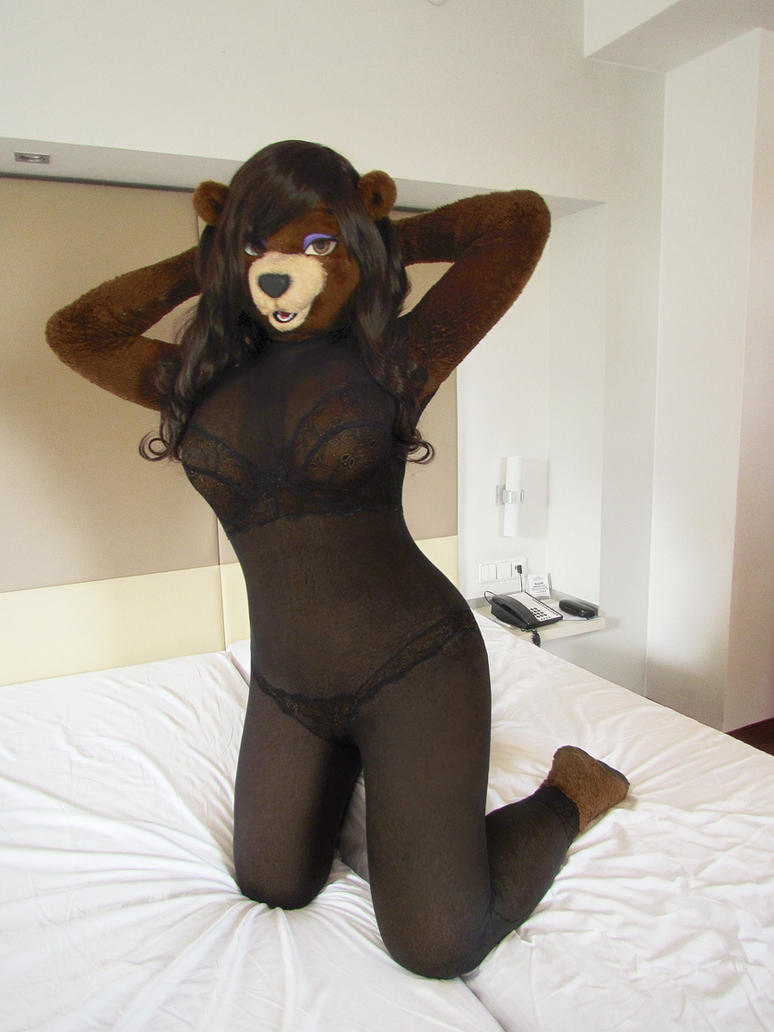 Lingerie Bear by kiwikig