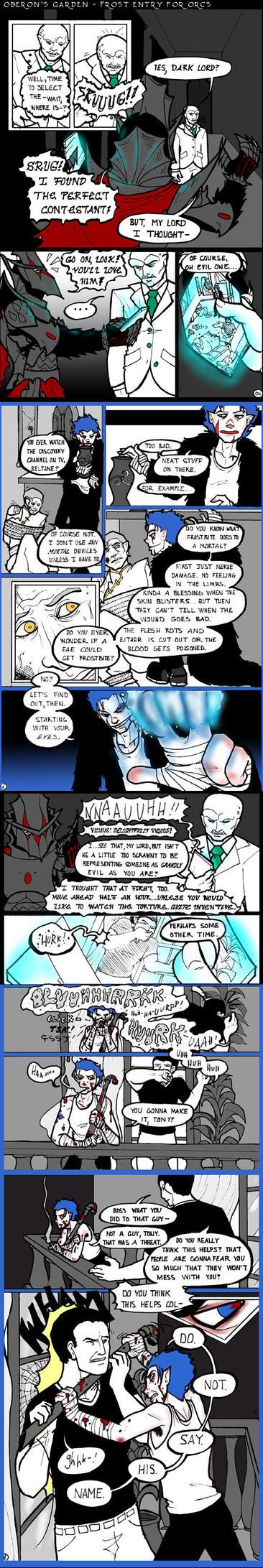 Frost OG Audition pg 1 by RobinRone