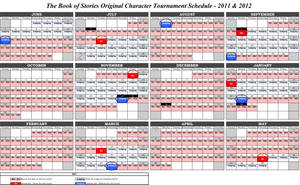 TBOS Schedule by RobinRone
