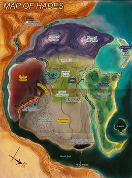 Map of Hades