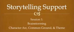 Storytelling Tips - Session 1 by RobinRone