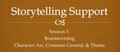 Storytelling Tips - Session 1