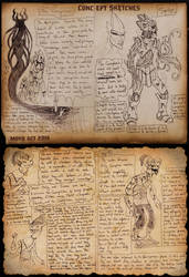 2014 OCT Concept Sketches 17 - The Corruption
