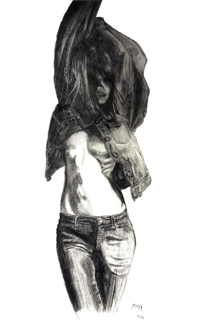 Jeans Girl by drkhope
