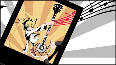 Guitar Colored Girl (VanitasValky) by VanitasSentiment