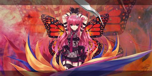 Butterfly Girl (VanitasValky) by VanitasSentiment