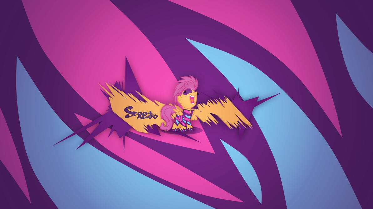 Scootaloo (The Show Stoppers) - Wallpaper by Prollgurke