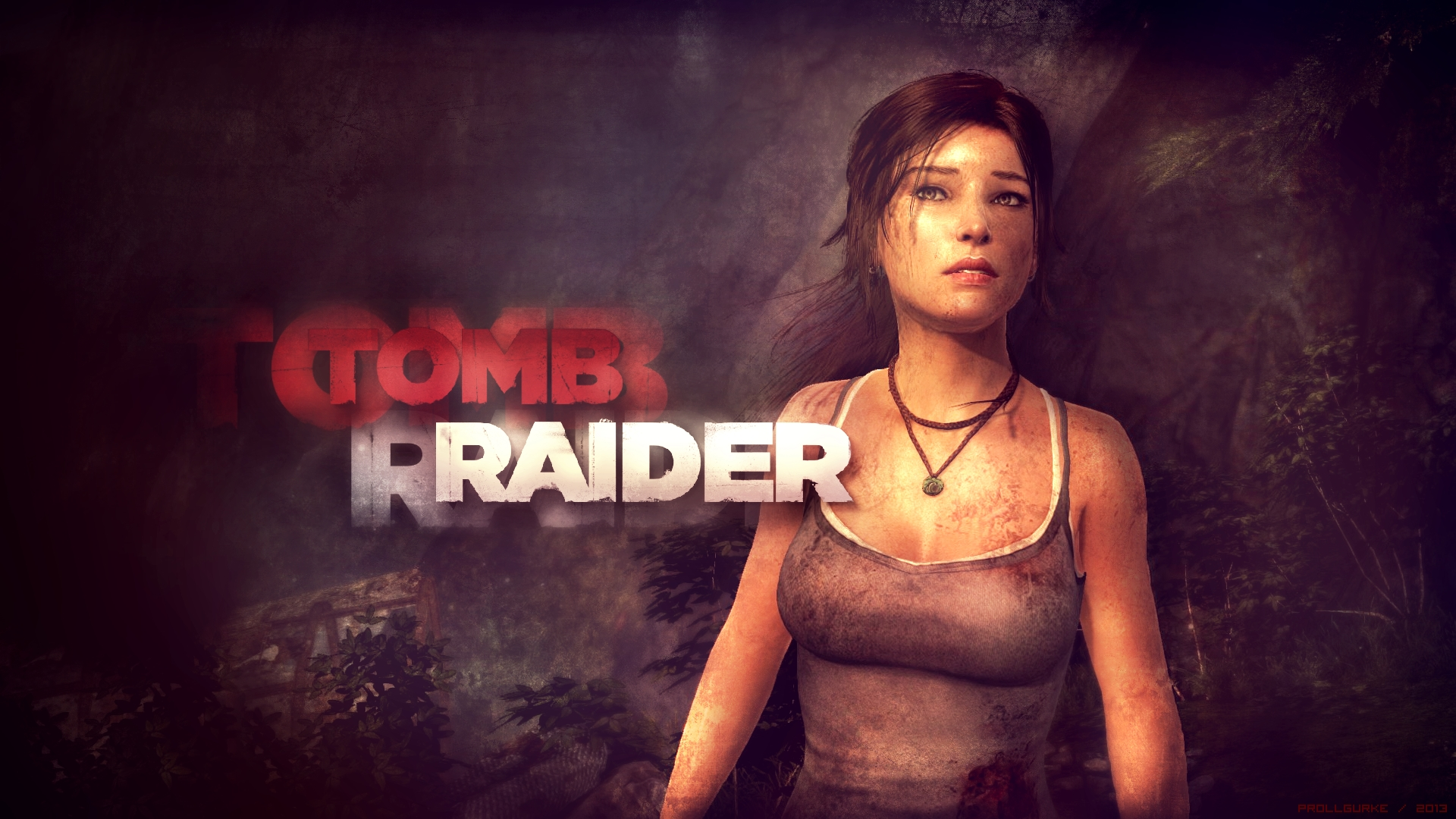 Tomb Raider 2013 Wallpaper: Tomb Raider 2013 (Wallpaper) By Prollgurke On DeviantArt