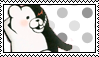 Monokuma stamp by ClockworkCrooked