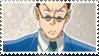 Leorio Stamp by ClockworkCrooked