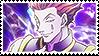 Hisoka Stamp by ClockworkCrooked