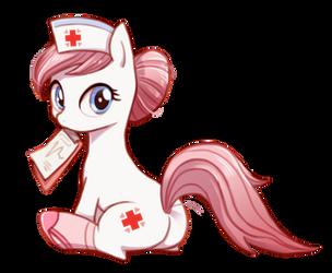 Nurse Redheart by ezoisum