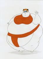 COM Obese Kagura by Robot001