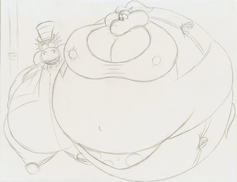 Tina blueberry sketch by Robot001 on DeviantArt