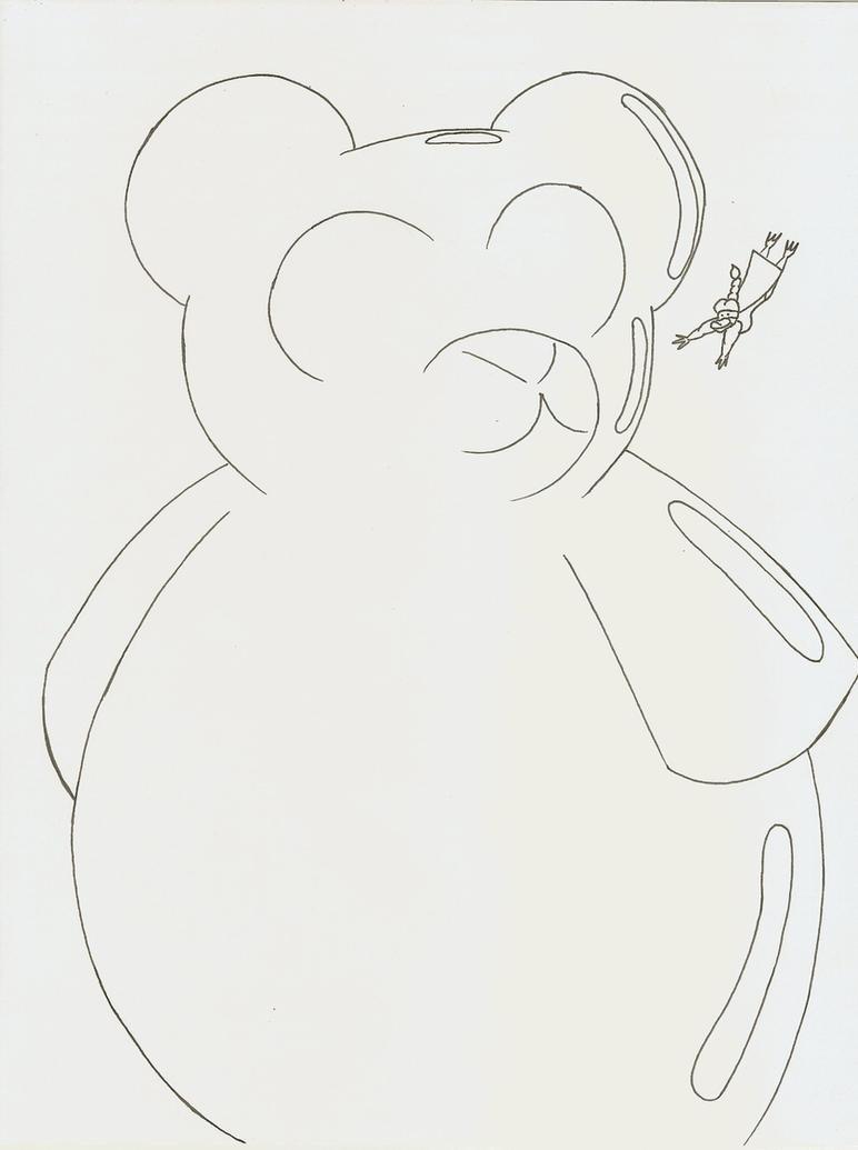 Gummy bear drawing - photo#8