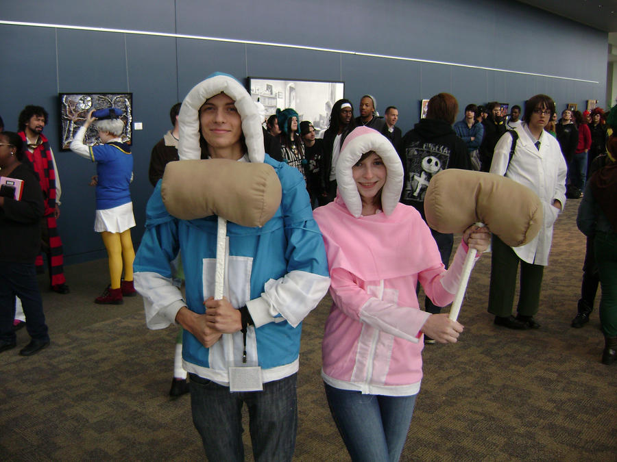 Ice climbers cosplay by Robot001Ice Climbers Cosplay