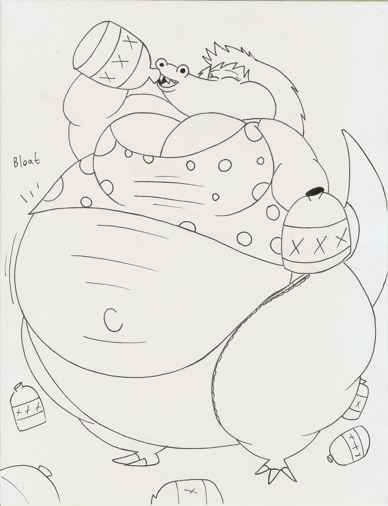 Moonshine gator by Robot001