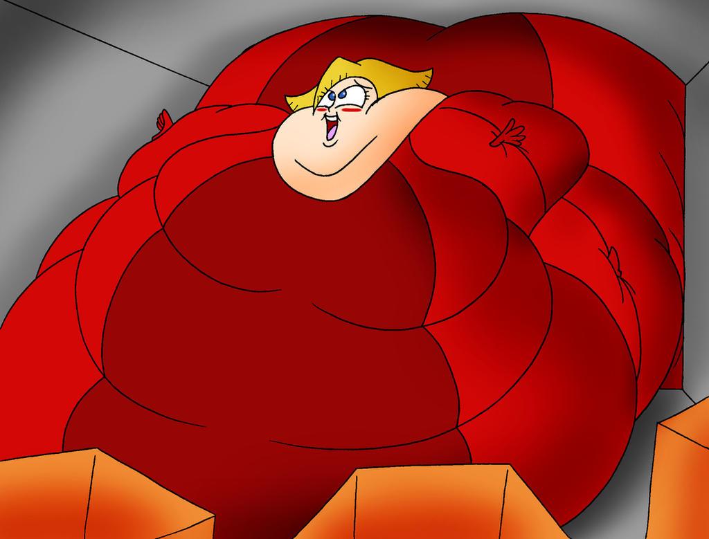 Clover raids the cookie vault by Robot001